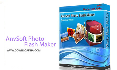 AnvSoft Photo Flash Maker Professional 5.58 نرم افزار ساخت اسلایدشو حرفه ای AnvSoft Photo Flash Maker Professional 5.58